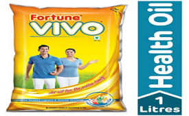 Buy Fortune Vivo Diabetes Care Oil Pouch, 1L at Rs 75 from Amazon