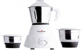 Buy Kenstar KMA50W3S-DBB 500 W Mixer Grinder at Rs 1,449 from Flipkart