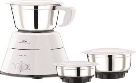 Buy Bajaj GX1 500 W Mixer Grinder (White, 3 Jars) at Rs 1,624 from Flipkart