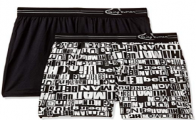 Buy Being Human Men's Printed Boxers (Pack of 2) at Rs 299 only from Amazon