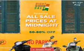 Myntra Right To Fashion Sale: Get Upto 50-80% Off on All Fashion Products + Extra 10% Instant Discount Via City Bank Debit/Credit Card [9th-12th August]