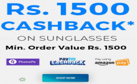 Coolwinks Offer: Get 100% Cashback Upto Rs 1500, Extra Rs 1000 Shopping Voucher On Eyeglasses at Coolwinks Via Paytm, Amazon Pay and PhonePe Wallet