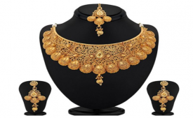 Get Upto 91% OFF on Sukkhi Alloy Jewel Set (Gold) on Flipkart