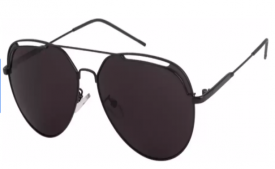 Buy Top Branded Farenheit  UV Protection Aviator Sunglasses (61) (Black) at Rs 318 from Flipkart