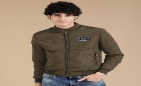 Get Upto 60% OFF on U.S. Polo Assn  Full Sleeve Solid Men Jacket on Flipkart