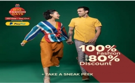 Myntra Big Fashion Days Offer: Get Upto 80% OFF, Extra Flat Rs 600 Cashback For All Paypal users
