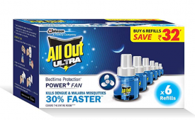 Buy All Out Ultra Power+ FAN (6 refills pack) at Rs 311 from Amazon