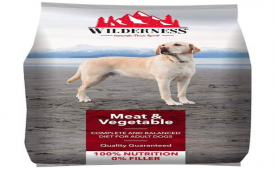 Buy Wilderness Adult Dry Dog Food, Meat and Vegetable - 3 kg Pack at Rs 199 only from Amazon