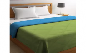 Buy Bombay Dyeing Solid Double Comforter at Flat 66% OFF Starting just at Rs 999 only from Flipkart