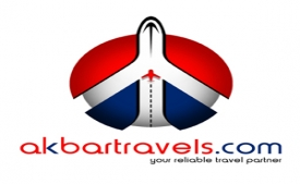 Akbar Travels Flight Coupons Offers: Upto Rs 20,000 discount on Flight Bookings on Akbar Travel