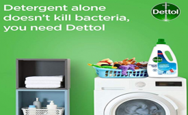 Buy Dettol After Detergent Wash Liquid Laundry Sanitizer 960ml at Rs 190 only from Amazon (Apply Rs 100 OFF Coupon)