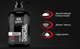 Buy Beardo Activated Charcoal Body Wash, 200 ml at Rs 199 only from Amazon