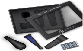 Buy The Man Company SIGNATURE SHAVING SET- MIDNIGHT BLUE at Rs 1,799 only