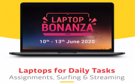Flipkart Laptop Sale Offers [10th-13th June] Upto 40% OFF on Laptops, Extra Prepaid & Citi Bank Discount Offers