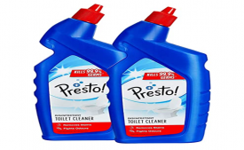 Buy Presto Toilet Cleaner- 1 L (Pack of 2) at Rs 160 only from Amazon