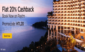 Book Hotel from Paytm and Get 30% Cashback UPTO 3000