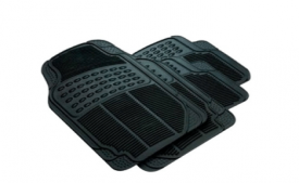 Buy Car Foot Mats (Set Of 4) - Black At Rs 499 Only From Snapdeal