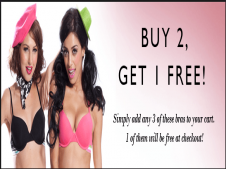 Clovia Coupons & Offers - Get 4 bras at Rs.799 + free Pack of two Assorted Panties