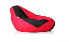 Buy Comfy XXL Bean bag filled with Beans in Red and Black at Rs 979 Only