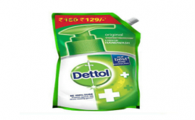 Buy Dettol  Pouch 800 ml At Rs 160 Only From Snapdeal