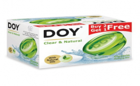 Buy Doy Glycerin Transparent Clear and Natura Soap 125g Pack of 3 at Rs 93 Only