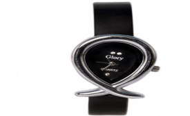 Buy Glory Black Analog Trendy Designer Watch at Rs 142 Only