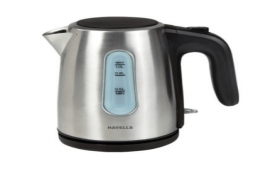 Buy  Kettle (Silver) Havells Aquis II 1-Litre 1100-Watt At Rs 2,118 Only
