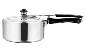 Buy Home Zone Sleek ISI Marked 3 L Pressure Cooker at Rs 444 Only
