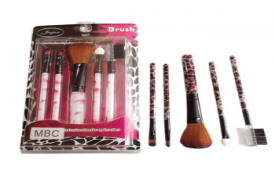 Buy Imported Make-up Brush- Set Of 5 At Rs 87 Only