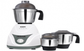 Buy Inalsa Eon 550-Watt Mixer Grinder with 3 Jars at Rs 1,499 Only
