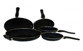 Buy Athena Creations Induction Base Cookware Set - 5 Pcs at Rs 750 Only