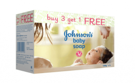 Buy Johnsons baby soap 150g Buy 3 get 1 FREE Only At Rs 198 Only From Amazon Selling Price Rs 300