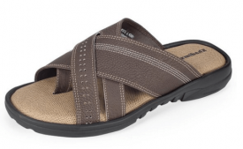 Buy Khadims Men's Synthetic Sandals at Rs 374 Only