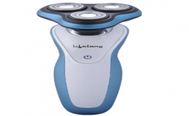 Buy Dry Electric Shaver and Lifelong Smooth Shave Wet Blue @ Rs 1,199 Only