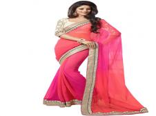 Buy Mateshwari textiles Multicoloured colour designer sarees at Rs 496 Only