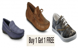 Buy Men's Casual shoes And Get 1 Free + Upto 50% Off On LimeRoad