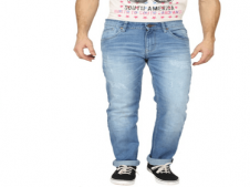Buy Pepe Jeans Blue Slim Fit Jeans at Rs 1,199 Only