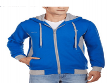 Buy Pure Play Men's Poly Cotton Hoodie at Rs 639 Only
