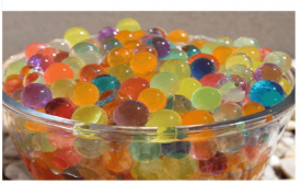 Buy ShaRivz Water Pearls (Multicolour) - 100 Balls At Rs 25 Only