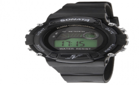 Buy Sonata 7982PP03 Men's Watch at Rs 525 Only