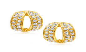 Buy Sukkhi Gold Earrings at Rs 1 Only