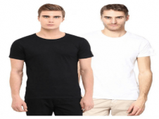 Buy TrendBAE Gym T-Shirts - Pack of 2 at Rs 148 Only