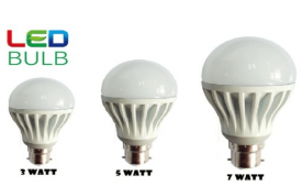 Buy Set of 3 ULTRA BRIGHT LED BULB B22 At Rs 165 from Shopclues