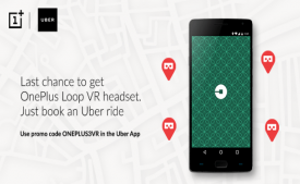 Take A Uber Ride & Get OnePlus Loop VR Headset Free On 17th June, 2PM-4PM