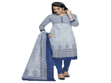 Buy Yuvanika Cotton Printed Salwar Suit Dupatta Material at Rs 579 Only