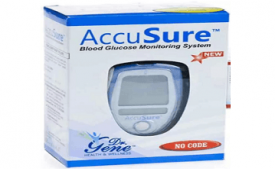 Buy AccuSure Accusure Glucose Monitor With 25 Strips Glucometer at Rs 525 from Flipkart