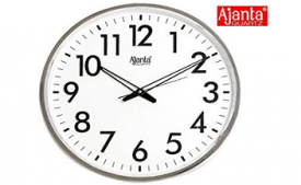 Buy Ajanta Simple Clock (Black, 907) at Rs 190 from Amazon