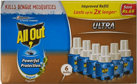 Buy All Out Refill (135 ml, Clear, 3-Pieces) at Rs 178 from Amazon
