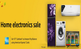 Amazon Year End Deals In Electronics: Upto 80% Off on Large Appliances