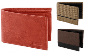 Mens Wallet Amazon Offers : Leather Junction Wallet for Men at Upto 90% Off Price Starting @ Rs 99